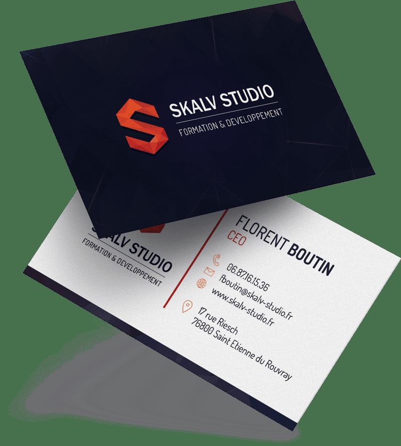 Carte de visite Skalv Studio