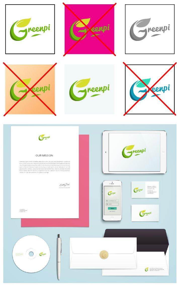 Charte graphique GreenPi