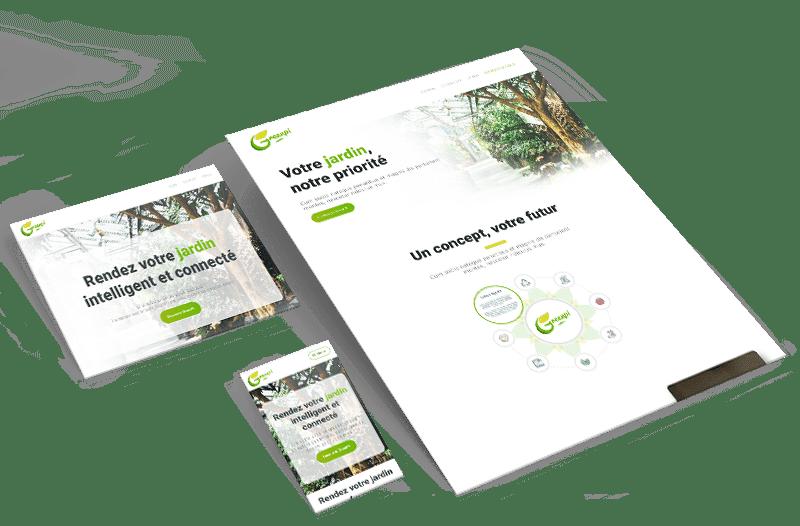 Landing page template GreenPi
