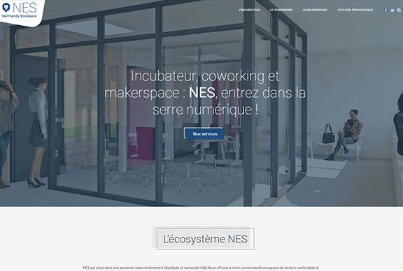 Projet Site internet NES