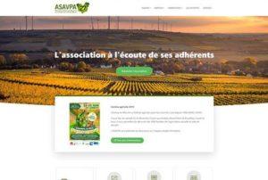 Projet Site internet ASAVPA27