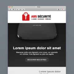 Newsletter abs sécurité