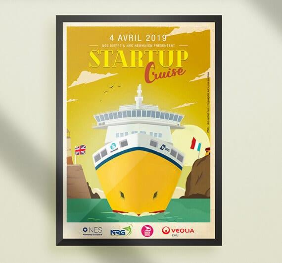 affiche startup cruise