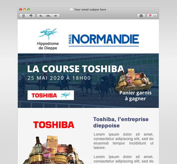 newsletter emailing infos