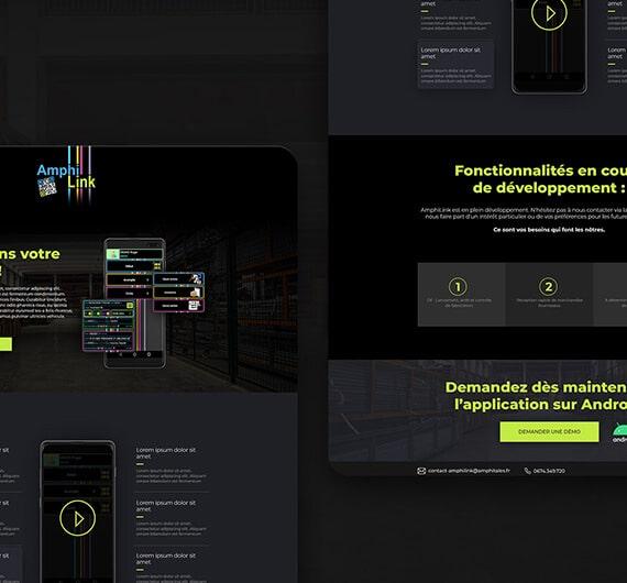 site dynamique amphitales